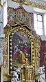 Slovénie, Ljubljana, Cathédrale Saint-Nicolas (Stolnica svetega Nikolaja), l'Adoration des Mages par Giulio Quaglio, 1704 et Anges sculptés de Francesco Robba, 1745-1750 (45196158535).jpg