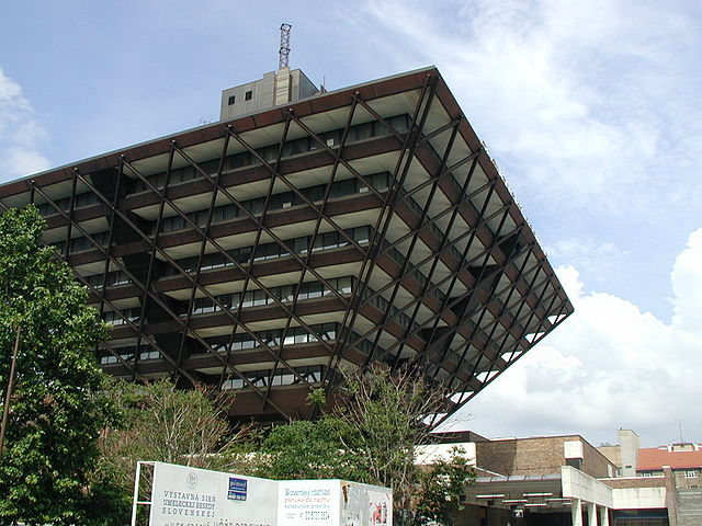 Slovak Radio Building - Pyramid in Bratislava