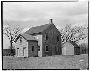 Pembroke, Massachusetts - Pembroke Friends Meetinghouse (1706)