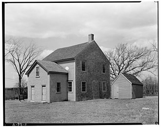 Pembroke, Massachusetts - Pembroke Friends Meetinghouse (1706)