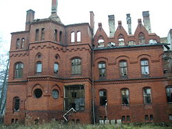 Dilapidated sanatorium