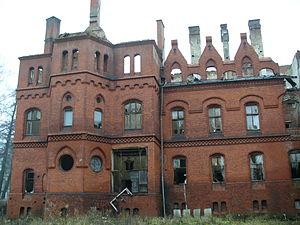 Sokołowsko - Dilapidated sanatorium