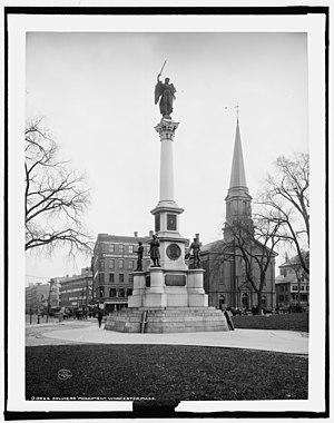 Soldiers' Monument (Worcester, Massachusetts)