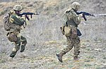 Soldiers with the Ukrainian Land Forces conduct defensive tactics on counterattack.jpg
