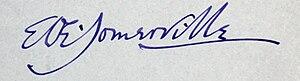 Edith Somerville - Image: Somerville Signature