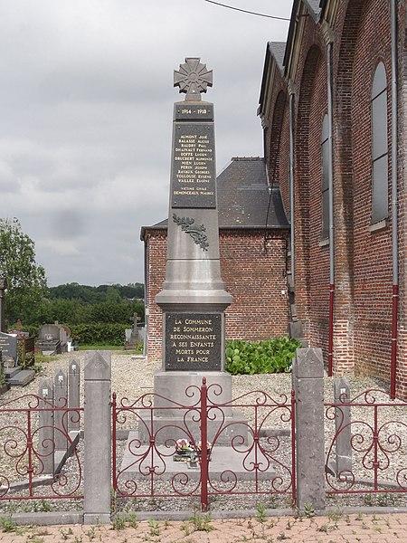 Sommeron (Aisne) monument aux morts