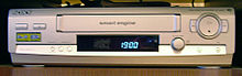 A Sony VCR