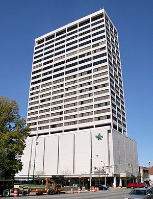 South Bend, Indiana - 25-story Chase Tower, the tallest building in South Bend.