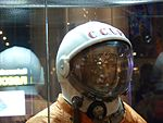 Space suits in Memorial Museum of Cosmonautics, Moscow, Russia, 2016 05.jpg