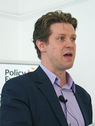 Fraser Nelson - Nelson speaking in 2012