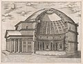 Speculum Romanae Magnificentiae- The Pantheon, broken away to show the interior MET DP870383.jpg