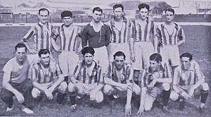 Club Sportivo Alsina - The Sportivo Alsina team of 1936 that won the Primera C championship.