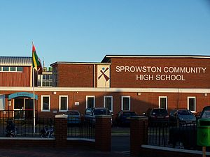 Sprowston - Image: Sprowstonhigh