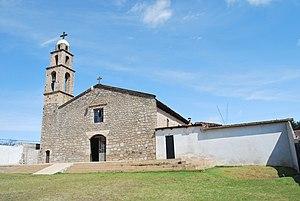 Zacatlán (municipality) - Parish church in Camotepec