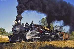 Sierra Railroad - Image: Srr 3 and 8 Nov 79 Flickr drewj 1946