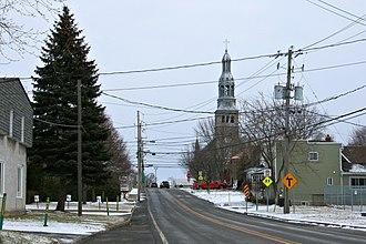 Saint-Isidore, Montérégie, Quebec - Image: St Isidore QC 1
