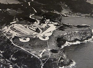 St David's Battery - St. David's Battery in 1942