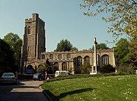 St. Gregory's church, Sudbury, Suffolk - geograph.org.uk - 168825.jpg
