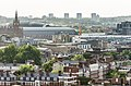 St. Pancras ^ Kings Cross stations as viewed from Michael Cliffe House (summer 2015) - panoramio.jpg