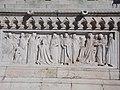 St. Stephen coronation relief, monument detail in Várkerület, 2016 Budapest.jpg