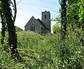 St Andrew's church viewed from footpath - geograph.org.uk - 1329990.jpg