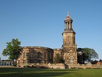 St Chad's Church, Shrewsbury - Image: St Chads Shrewsbury