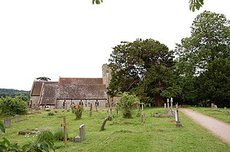 Crowhurst, East Sussex - St Georges Churchyard, Crowhurst