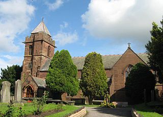 St James Church, Christleton Church in Cheshire, England