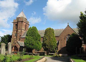 Listed buildings in Christleton - Image: St James' Church, Christleton