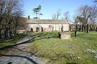 St Johns Church, Waberthwaite Church in Cumbria, England