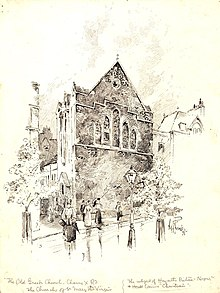 St Mary's Church, Charing Cross Road, 1897.jpg