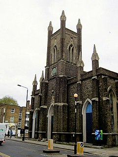 St Marys Church, Somers Town Church in United Kingdom
