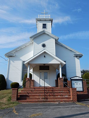 Eldred Township, Schuylkill County, Pennsylvania - Image: St Paul's Church, Eldred Township, Schuylkill Co PA 02