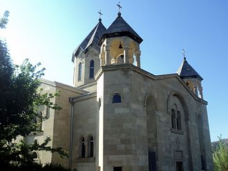 Vayk - Saint Trdat Church