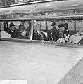 Staatsbezoek Koningin en Koning van Nepal aan Amsterdam, tijdens rondvaart, voor, Bestanddeelnr 920-2627.jpg