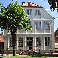 Stadt Arnis Schlei Schleswig-Holstein altes Rathaus Ansicht - Foto Wolfgang Pehlemann IMG 8739.jpg
