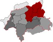Barmen und die 1929 entstandene Stadt Wuppertal