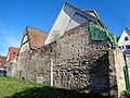 Stadtmauerreste Herrenberg, Außenwände der Gebäude Badgasse 31, 29, 25 - DSC02012.jpg