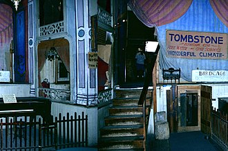 Bird Cage Theatre - Image: Stage Birdcage
