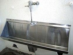 slidan urinering från