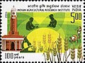Stamp of India - 2006 - Colnect 158966 - 100 Years of Indian Agricultural Research Institute.jpeg