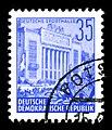 Stamps GDR, Fuenfjahrplan, 35 Pfennig, Offsetdruck 1953, 1957.jpg