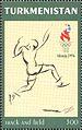 Stamps of Turkmenistan, 1997 - Athletics.jpg
