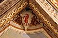Stanza della notte e dì, soffitto di jacopo vignali, 1625, 04 stemma.JPG