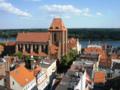 Stare Miasto w Toruniu, widok z wieży ratuszowej (widoczny kościół św. Janów) (Ola Z.).png