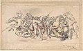 Start of the Race of the Barberi Horses, Rome MET DP805565.jpg