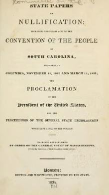 State Papers on Nullification.djvu