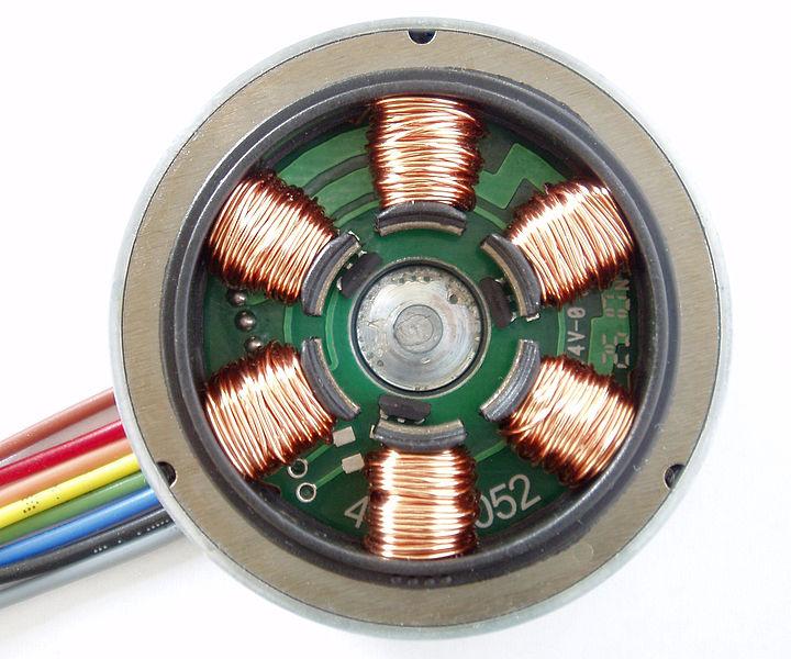 File:Stator Winding of a BLDC Motor.jpg