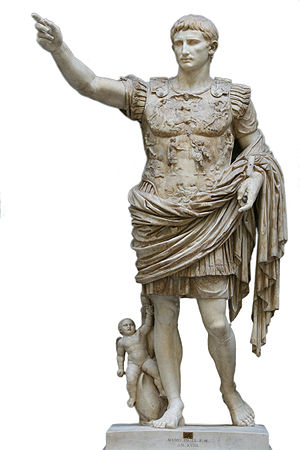 English: Augustus of Prima Porta, statue of th...