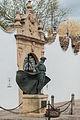 Statue of Cayetano Ordóñez at the entrance to the Plaza de Toros de Ronda (7077355879).jpg